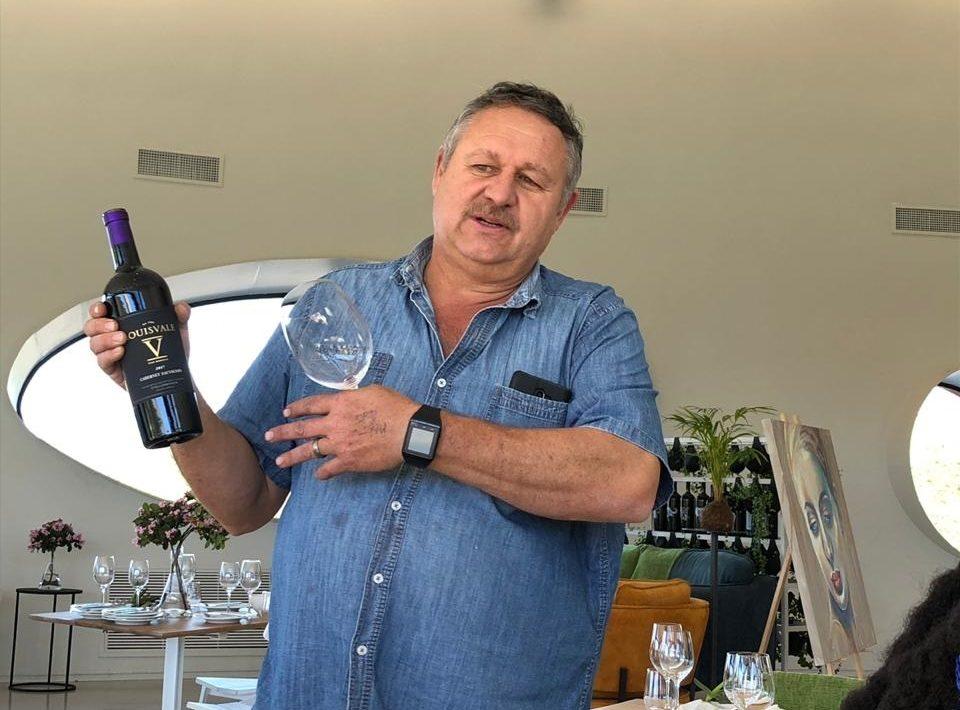 Simon Smith Louisvale winemaker